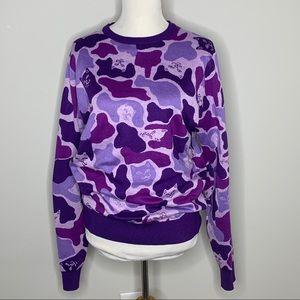 RIPNDIP Purple Camo Cat Camouflage Sweater